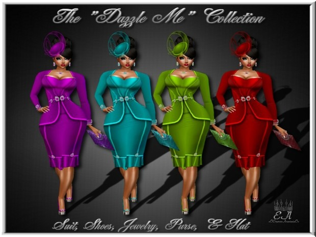 The Dazzle Me Collection Catty Only!!!!