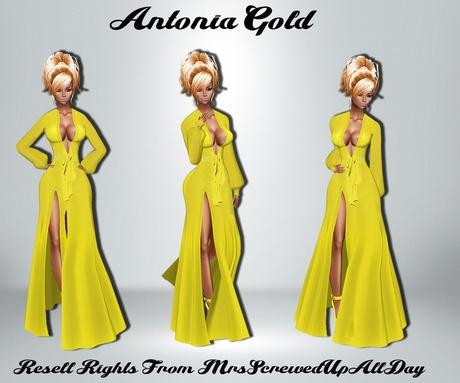 Antonia Gold Catty Only!!!