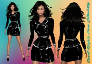 Latex Honour Jacket Catty Only!!!