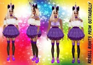 Pastel Lolita Set Bundle Exclusive Catty Only!!!