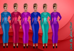 Thor GA Dresses 19 Colors Resell Rights!!!