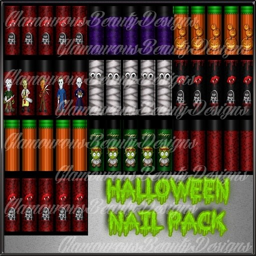Halloween Nail Pack Catty Only!!!