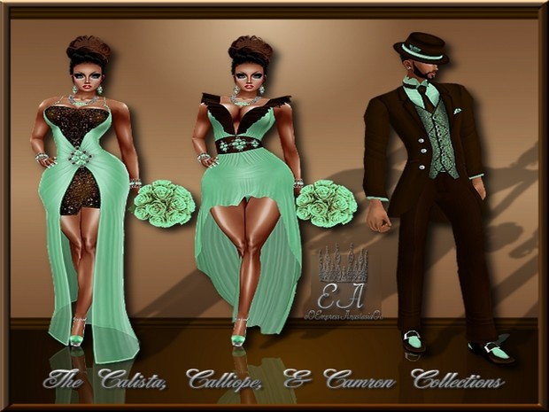 The Calista, Calliope, and Camron Collections Catty Only!!!