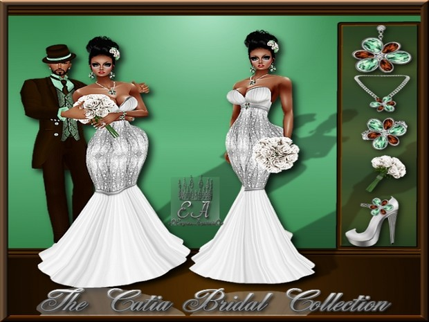 The Catia Bridal Collection Catty Only!!!