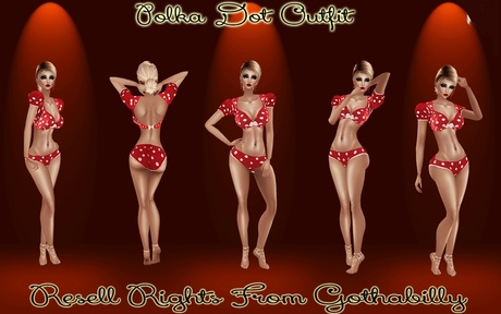 Polka Dot Outfit Catty Only!!!