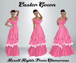 Easter Gown Catty Only!!!