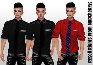 3 Smart Shirts & Tie Catty Only!!!
