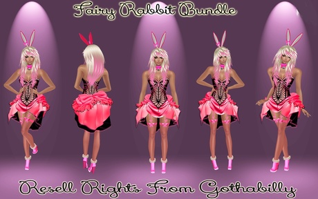Fairy Rabbit Bundle Catty Only!!!