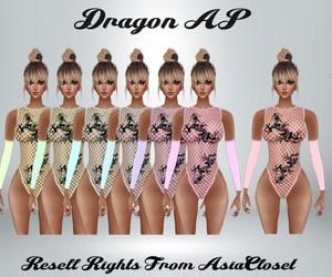 Dragon AP Catty Only!!! RL, RLL, RLS SIZES