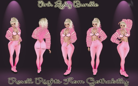 Pink Lady Bundle Catty Only!!!