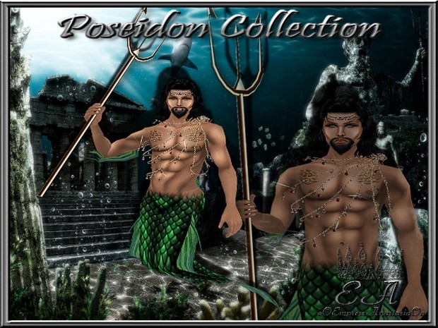 The Poseidon Collection EXCLUSIVE!!! SOLD TO ONLY 3 People!!!  Catty Only!!!!