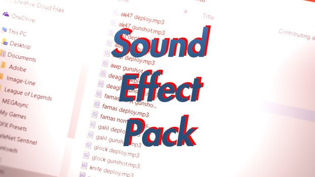 Sound Effects Pack + Free Project Files