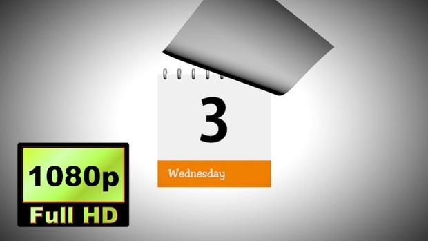 00003_7 days calendar animation