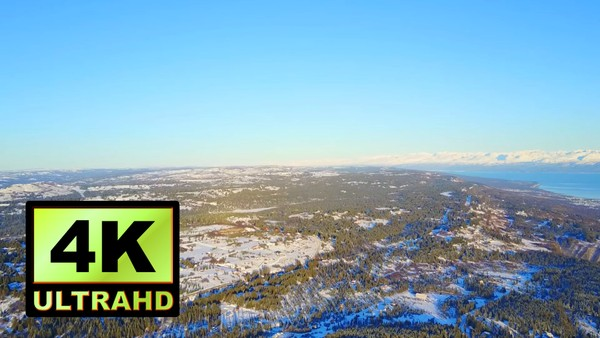 01761_aerial drone footage of winter landscape in Alaska_4K UltraHD Version