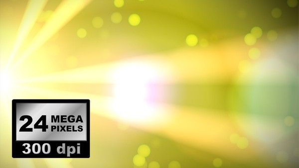 IMAGES PACK 0003: 6 X abstract lights with bokeh effect and lens flare