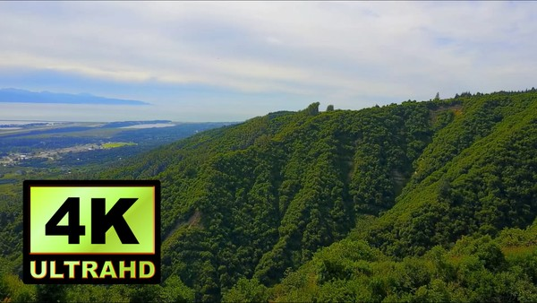 01304_aerial drone footage of beautiful mountainside in Alaska_4K UltraHD Version