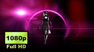 00027_Fashion Model Catwalk 3D animation