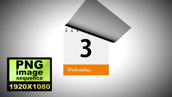 00003_7 days calendar animation_PNG Image Sequence Format
