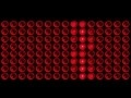 00213_Abstract light bulbs set in rows lighting up seamless loop 2D animation
