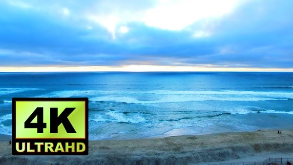 01121_Australia drone flying above beautiful beach side and towards the horizon_4K UltraHD Version