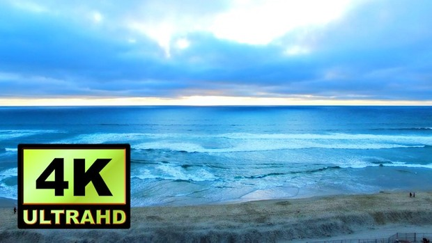 01121_Australia drone flying above beautiful beach side and towards the horizon_4K UltraHD Version