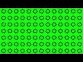 00178_gear silhouettes spinning on green screen seamless loop 2D animation