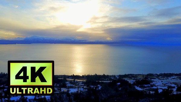 01583_aerial drone footage of beautiful winter landscape in Alaska_4K UltraHD Version