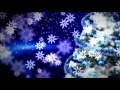 00545_celebrations – Christmas tree with snowflakes slowly falling