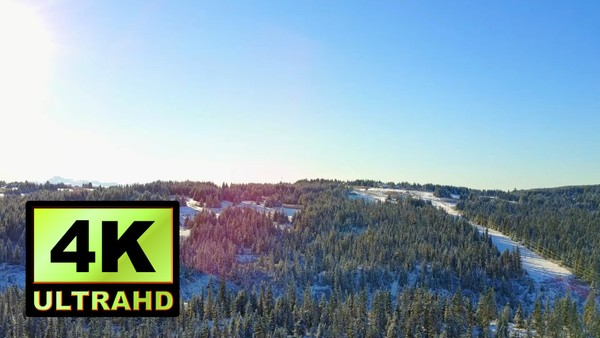 01735_aerial drone footage of winter scenery in Alaska _4K UltraHD Version