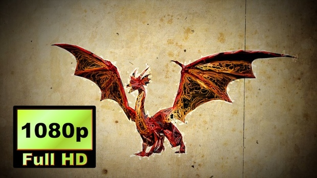 00038_graphic sketch style dragon animation