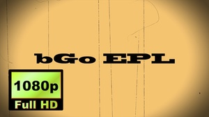 """00015_""""THE END"""" text scramble word reveal with old movie effects"""