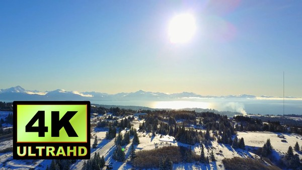 01746_aerial drone footage of winter landscape in Alaska_4K UltraHD Version