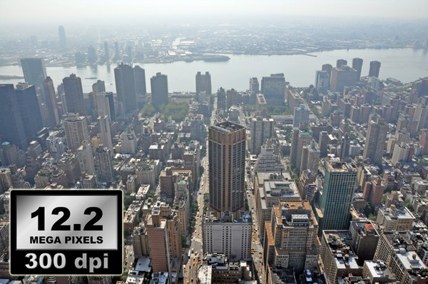 PHOTOGRAPHY PACK 001: 35 X New York City Panorama photos from above : Day and Night time
