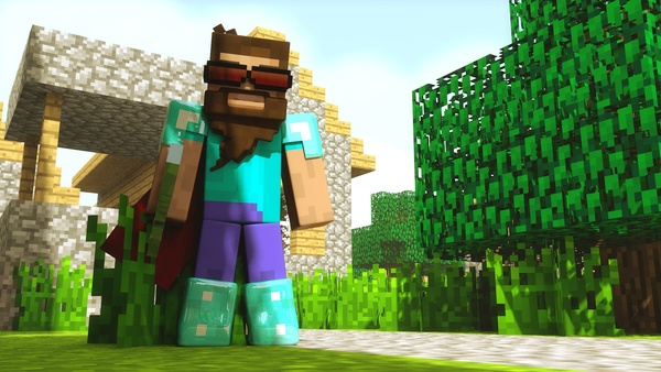 Cinema 4D - Minecraft Rig Template Version 7