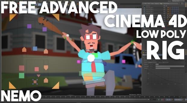 Cinema 4D - Free Advanced Rig Nemo - Anishwij