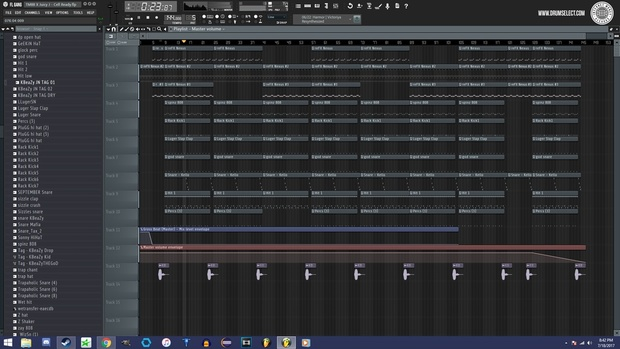 DrumSelect - IMR FL Studio Skin Vol.1