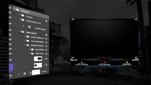 Facecam/Webcam Overlay PSD