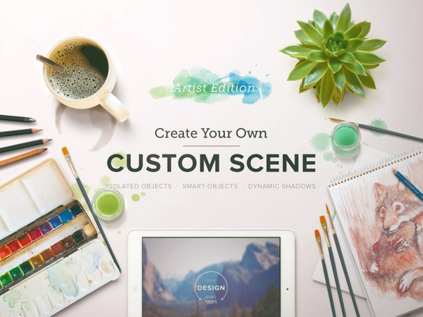 Custom Scene - Artist Ed. - Vol. 1