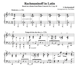 Rachmaninoff in Latin