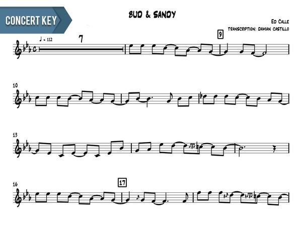 "Ed Calle - ""Bud & Sandy"" - Concert Key"