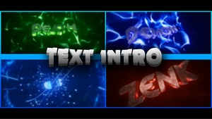 Text Intro [1080p60Fps]