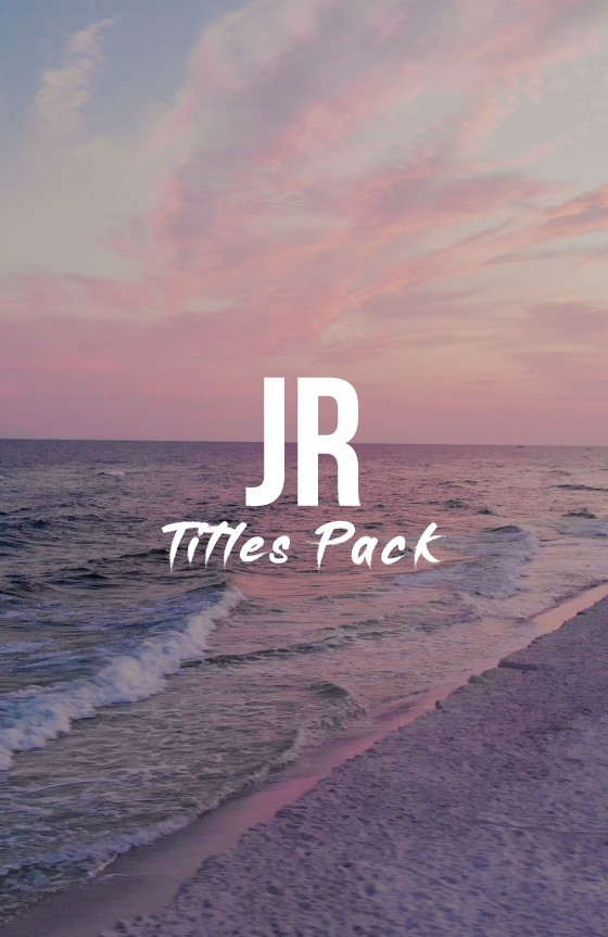 JR Titles Pack