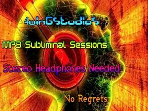 No Regrets MP3 Subliminal Session