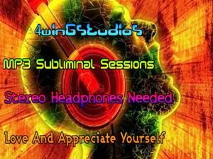 Love And Appreciate Yourself MP3 Subliminal Session
