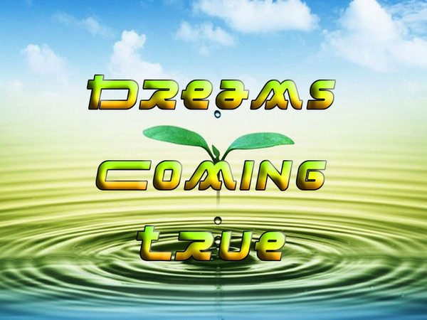 Dreams Coming True Mind Movie