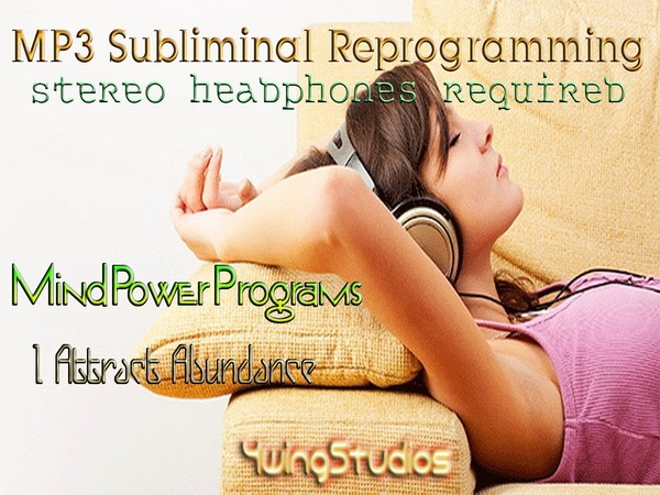 I Attract Abundance Subliminal MP3