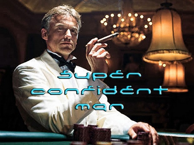 Super Confident Man Mind Movie