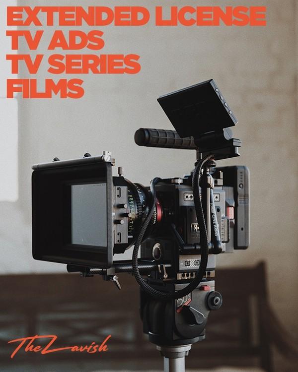 Extended Commercial License - TV Ads, TV & Film