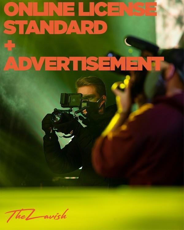 Online License - Advertisement