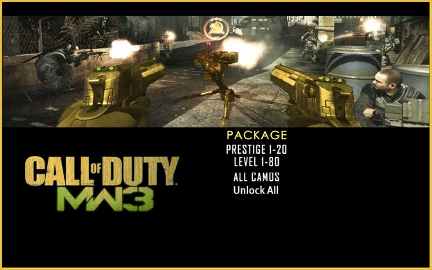 [PS3] Recovery Service: Call of Duty - Modern Warfare 3